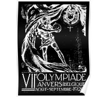 Olympics 1920 Poster
