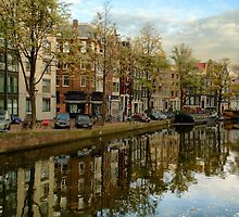 Amsterdam Reflection by Ludwig Wagner