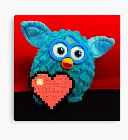 Furby Loves U-nye Canvas Print