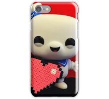 Marshmallow Man Valentines  iPhone Case/Skin