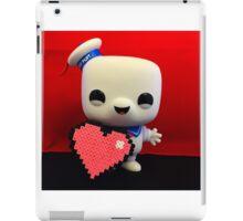Marshmallow Man Valentines  iPad Case/Skin
