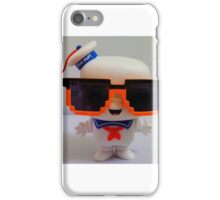 Marshmallow Man In Sunglasses - Light iPhone Case/Skin