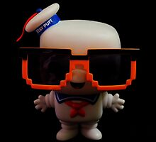 Marshmallow Man In Sunglasses - Dark by FendekNaughton