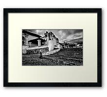 Antigua Nun Framed Print