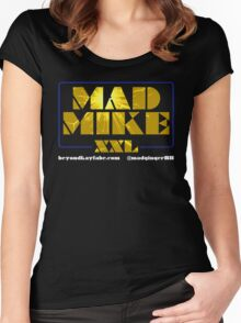 Beyond Kayfabe Podcast - Mad Mike XXL Women's Fitted Scoop T-Shirt