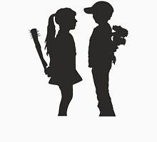 Banksy Design Print Girl and Boy  Unisex T-Shirt