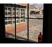 Window to the Past Photographic Print