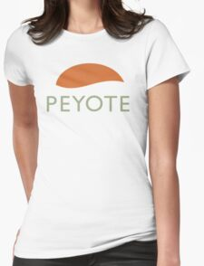 Peyote Womens Fitted T-Shirt