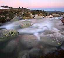 Mountain Stream, Kosciusko National Park, Australia by Michael Boniwell