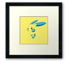 Minun - Pokemon Framed Print