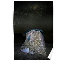 Star Filled Night, Seamans Hut, Mt Kosciusko, Australia Poster