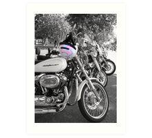 Harley Momma Art Print