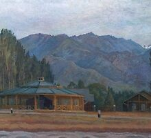 Issyk Kul. Northern shore. by v0ff