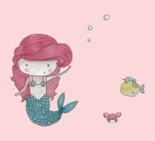 Ariel with Flounder & Sebastian Kids Clothes