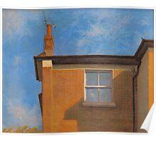 window. islington. Poster