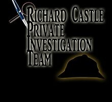 Richard Castle Private Investigation Team by YoShivy