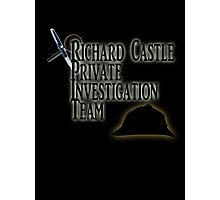 Richard Castle Private Investigation Team Photographic Print
