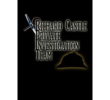 Richard Castle Private Investigation Team Photographic Print