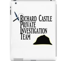Richard Castle Private Investigation Team iPad Case/Skin