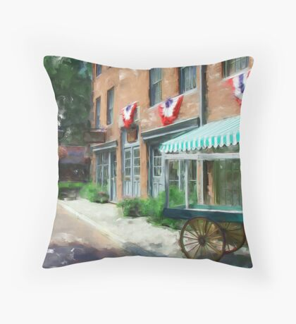 Another Day's End... Throw Pillow