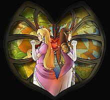 Peach & Zelda - Fanart  by Kurostars