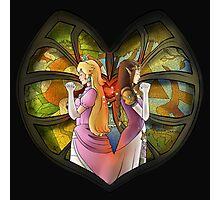 Peach & Zelda - Fanart  Photographic Print