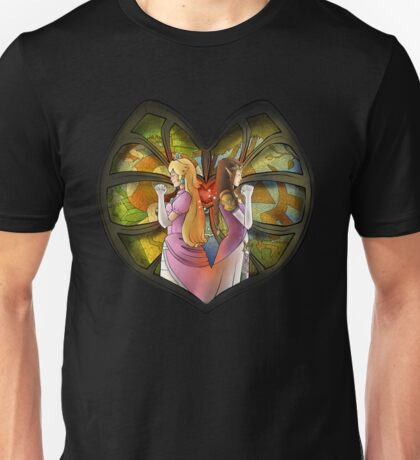 Peach & Zelda - Fanart  Unisex T-Shirt