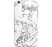 Aragorn - art nouveau iPhone Case/Skin