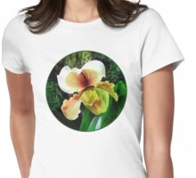 Paph Hellas Westonbirt Orchid Womens Fitted T-Shirt