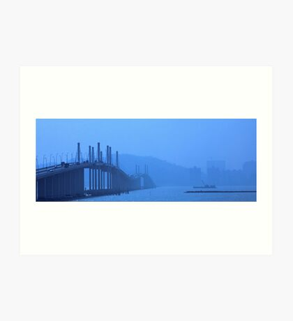 Macau Inlet Art Print