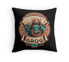 Ghost Pirate Grog Throw Pillow
