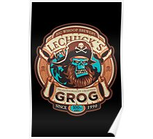 Ghost Pirate Grog Poster