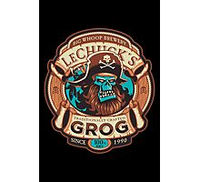 Ghost Pirate Grog Photographic Print