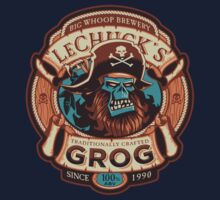 Ghost Pirate Grog Kids Tee