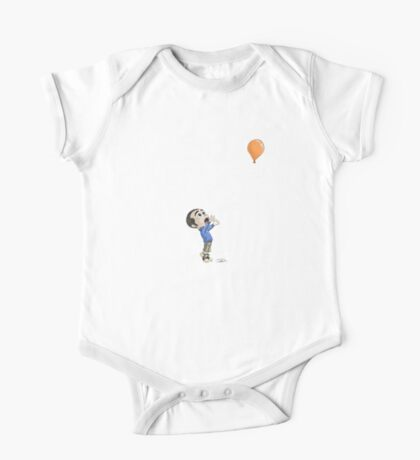 Balloon catching - Colour TS One Piece - Short Sleeve