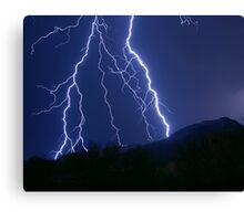 Nature's Raw Power Canvas Print