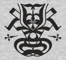 Typo Samurai - Black One Piece - Long Sleeve