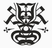 Typo Samurai - Black One Piece - Short Sleeve