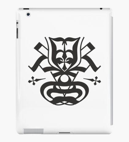 Typo Samurai - Black iPad Case/Skin