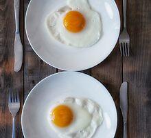 fried eggs by Joana Kruse