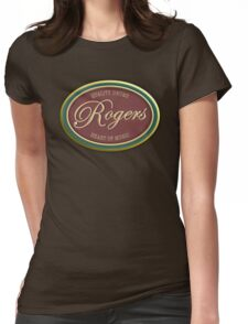 Rogers Vintage Womens Fitted T-Shirt