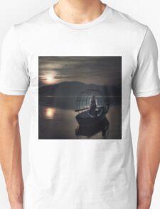 woman on fishing boat T-Shirt