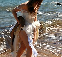 Beach Bride 3 by HeidiD