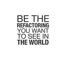 Refactoring Positivity Photographic Print