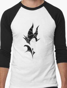 Maleficent Men's Baseball ¾ T-Shirt