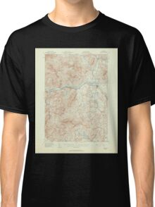 Maine USGS Historical Map Bethel 306467 1940 62500 Classic T-Shirt