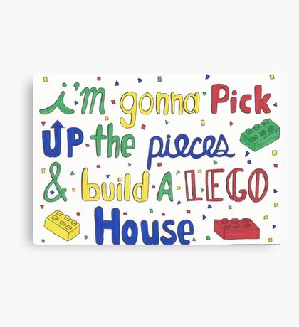 Lego House  Canvas Print