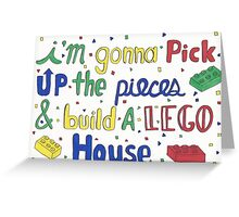 Lego House  Greeting Card