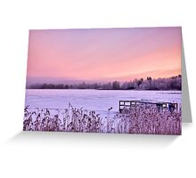 Lilac dawn Greeting Card