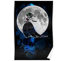 Gardevoir magical night Poster